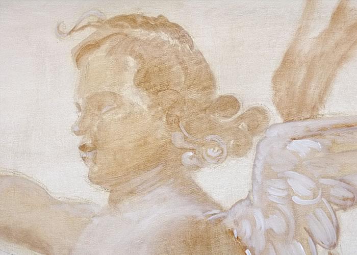 Phanuelle mognetti portfolio - Peinture a la caseine ...